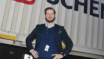Christian Flatum, direktør for sjøfrakt i Schenker Norge.