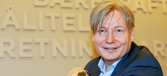 Ole Andreas Hagen er næringspolitisk direktør i NHO Logistikk og Transport.
