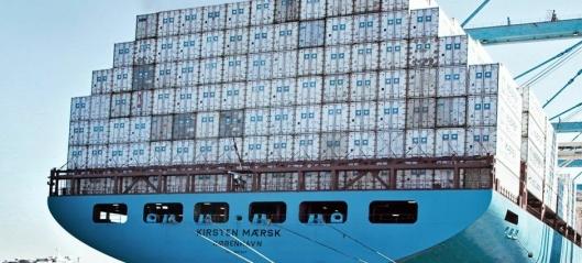 Gigantoverskudd for Maersk
