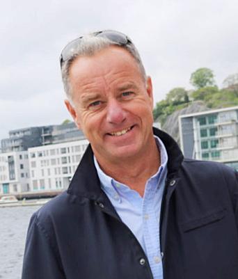 Rune Hvass, havnefogd i Arendal Havn.