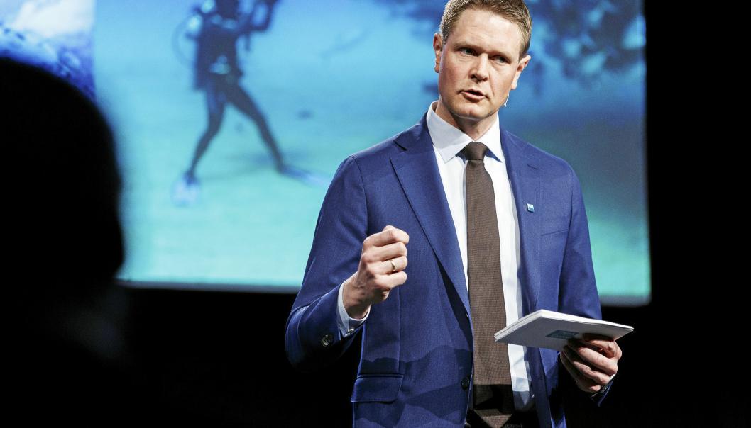 - Norsk skipsfart går med dette foran i å sette høye ambisjoner for utvikling av ny og lønnsom grønn teknologi, sier Harald Solberg, administrerende direktør i Norges Rederiforbund.
