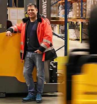 Jarle Erlandsen Hagen er supply chain manager hos Unil i Våler, og kan få dobbelt så mange palleplasser å jobbe med om et par år.