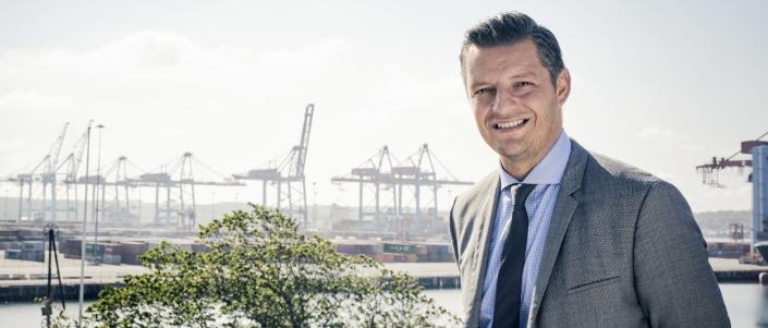 Elvir Dzanic, administrerende direktør i Port of Gothenburg AB.