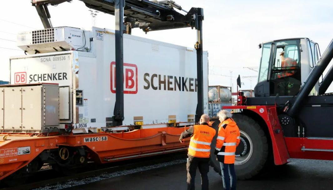 Med økt frekvens gir DB Schenker sine kunder mulighet til økt bruk av tog i fiskeeksporten.