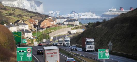 Brexit og virkninger på vareflyten til og fra Storbritannia