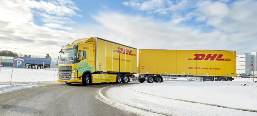 60 tonns el-Volvo på langkjøring