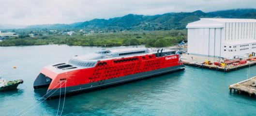 Ny katamaran gir Fjord Line økt kapasitet
