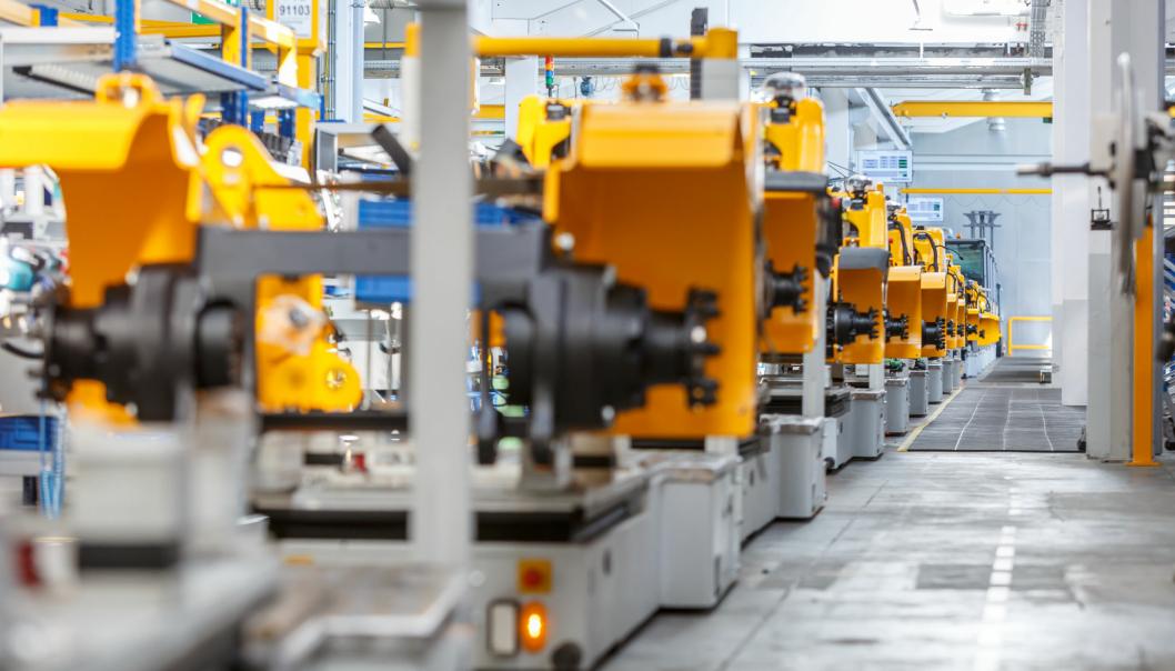 Fremtidens Jungheinrich-trucker skal produseres uten CO2-utslipp.