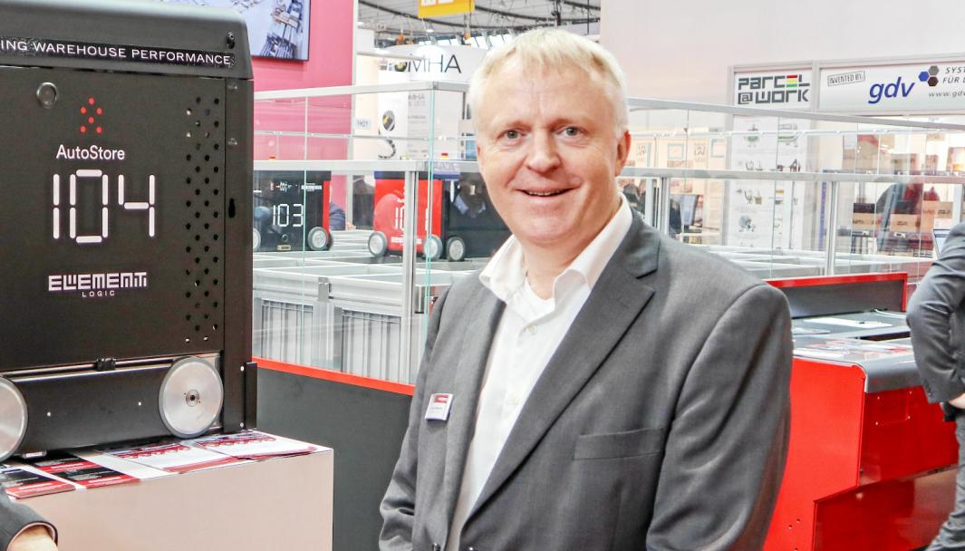 Administrerende direktør Dag Adler Blakseth i Element Logic kan glede seg over rask og lønnsom vekst.