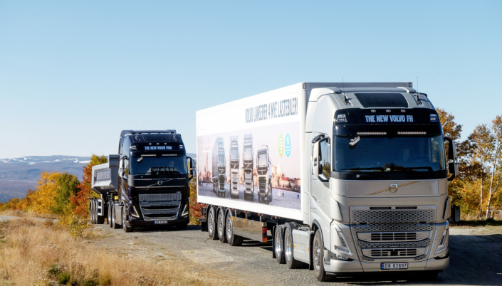 FORBEDRET: Også Volvo FH og FH16 har fått store forbedringer.