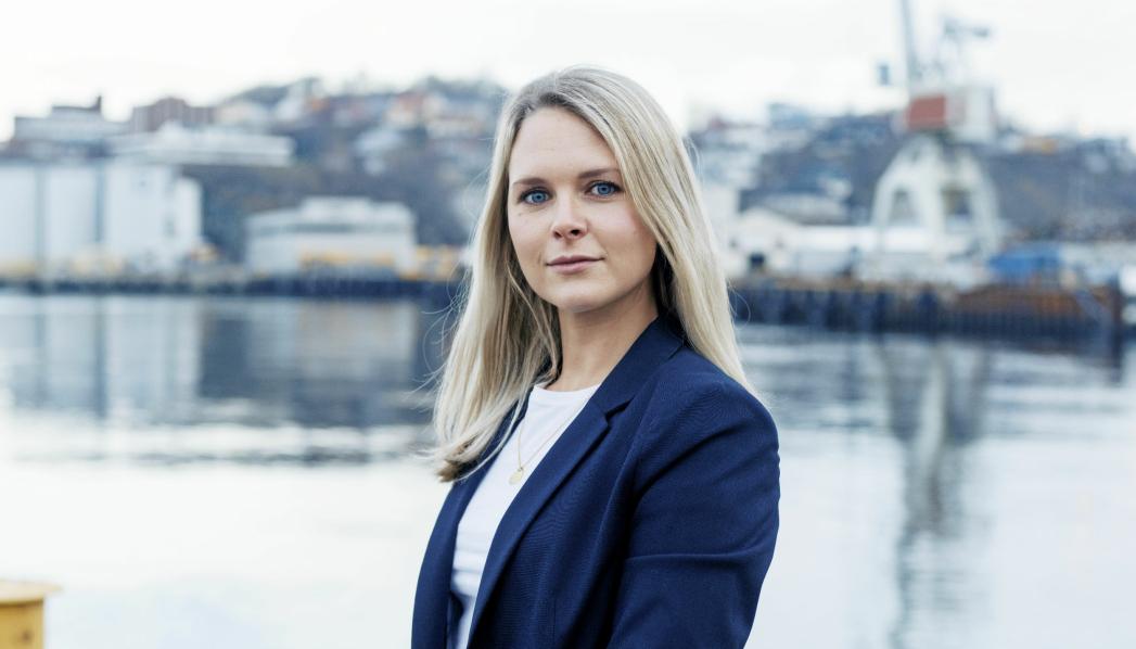 Kirsti Østensjø, markedssjef Trondheim Havn.