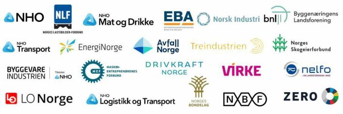 Disse organisasjonene er med på programmet.