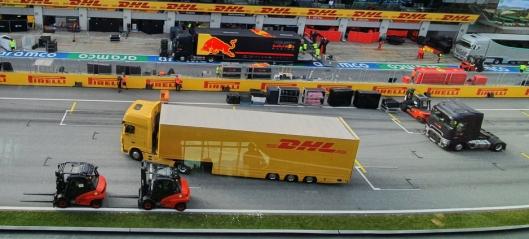 Logistikk i racerfart på fem kontinenter