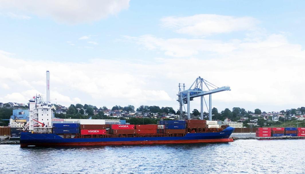 Viasea har base her i Moss, men har nå utvidet med avdelinger i Klaipeda og Gdynia.