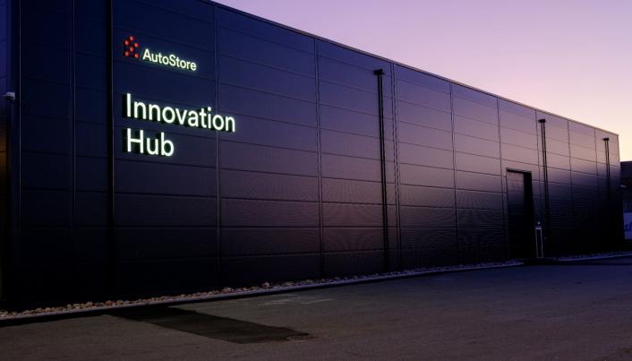 AutoStore Innovation Hub på Karmøy sto klar bare noen måneder etter at ideen dukket opp.
