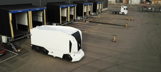 Vil kjøre autonome lastebiler i Göteborg