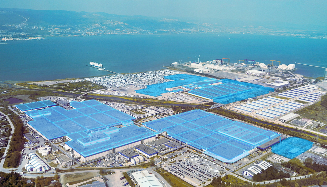 Ford Otosan-fabrikken i Tyrkia.