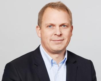GLEDER SEG: Administrerende direktør i Asko Oslofjord, Knut-Andreas Kran, leder et stort prosjekt, som nærmer seg ferdigstillelse.