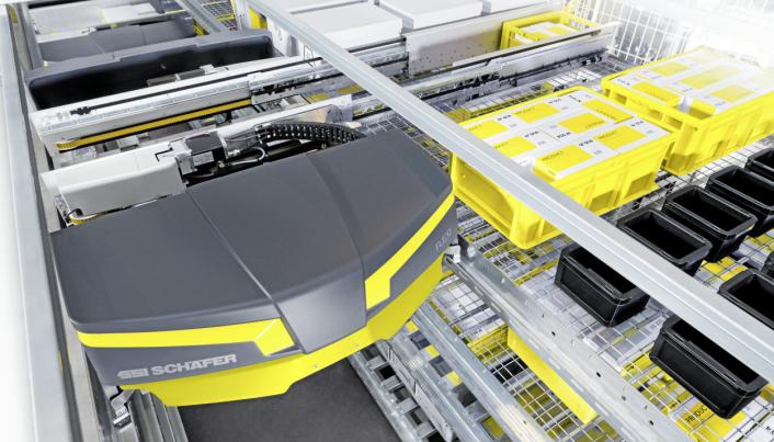 NYTT SYSTEM: SSI Flexi-skytler blir installert hos Asko Oslofjord, og skal bidra både med effektivitet på lageret og redusert energiforbruk.
