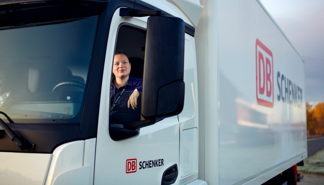 DB Schenker er blant selskapene som er med på prosjektet.