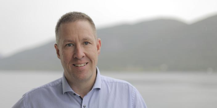Ove Gjelstenli, Sales Director, Logistics i Maritech.