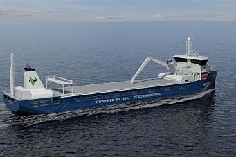 Skal gjøre skipsfarten grønn med ammoniakk