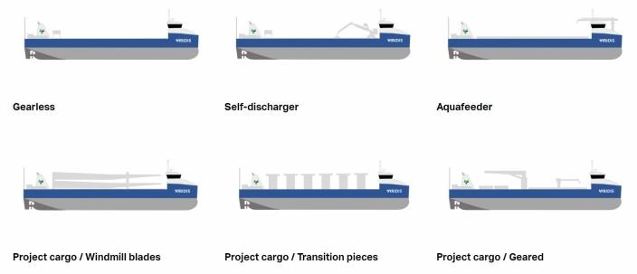 FLERE VARIANTER: Viridis ser for seg ulike versjoner av skipet.