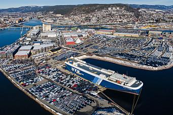 Trangt om plassen i Drammen