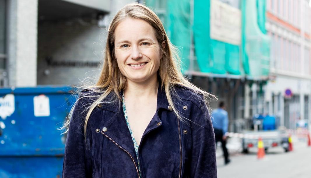 KJEMPER FOR MILJØET: Guro Hauge, fagansvarlig for bygg og materiale i Zero, oppfordrer norske bedrifter til å gå gjennom plastbruken sin, og ikke minst etterspørre resirkulert plast.