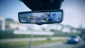 Smart speil for varebiler