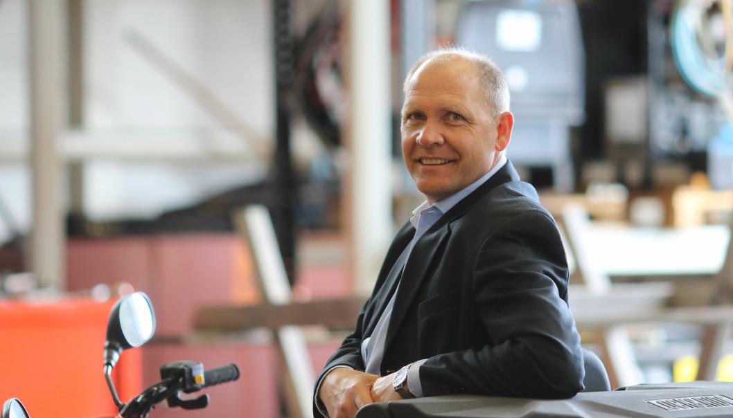 Sven Martin Tønnessen, direktør for transport, havn og farled i Kystverket.