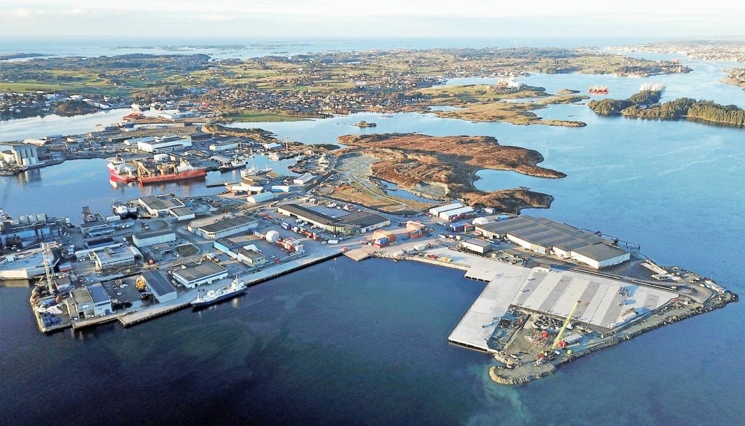 Karmsund havn vil etablere en grensekontrollstasjon for å kunne ta imot fiskefôr fra Skottland.