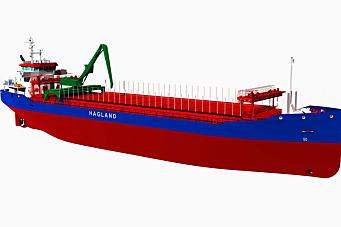Enova-støtte til to nye miljøskip
