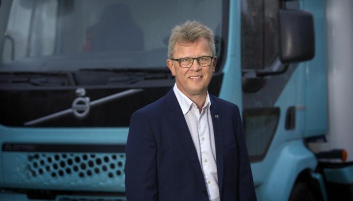 Elektriske lastebiler kommer for å bli mener Roger Alm i Volvo Trucks.