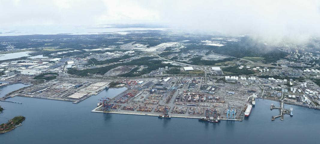 Göteborg Havn etablerer en egen shortseaterminal.