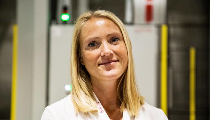 SER MULIGHETER: Mari Låtun Stebekk er salgssjef for integrerte løsninger i Swisslog AS