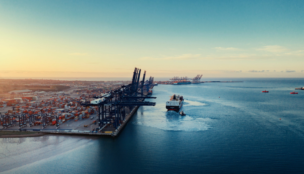 DYRT: Prisen på å frakte en container fra Asia til Europa har eksplodert det siste året.