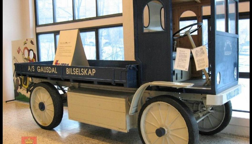 Walker Electric -årsmodell 1916 ble brukt som godsrute på en strekning på 60 kilometer - fra Lillehammer til nabokommunen Gausdal. Det var minst en ladestasjon på strekningen.