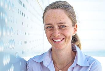 Kristin Ljønes, strategisk prosjekt- og utviklingskoordinator for godstrafikk i Bane Nor, gleder seg til å få nye kraner.