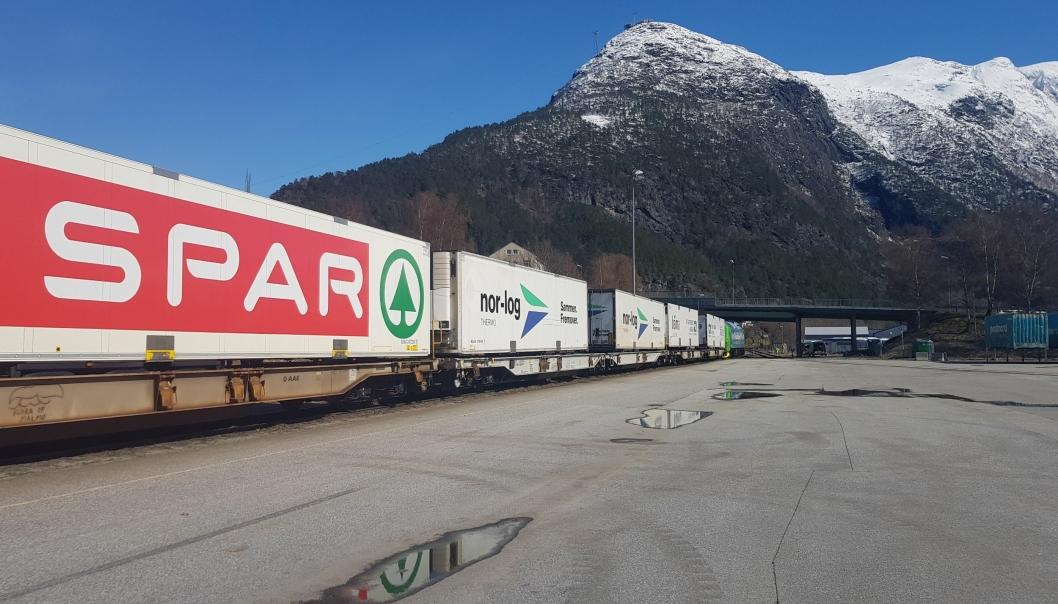 KUNDENE PÅ PLASS: Flere store kunder har allerede begynt å benytte seg av det nye tilbudet, blant annet Asko, Nor-log Thermo og Bama Logistikk.