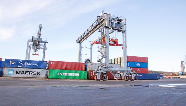 FORDEL: Nærhet til Borg Havn gjør at Viken Park har god tilgang til både import og eksport sjøveien.