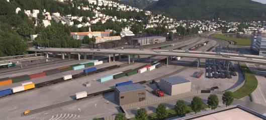 Grønt lys til dobbeltspor og terminal i Bergen