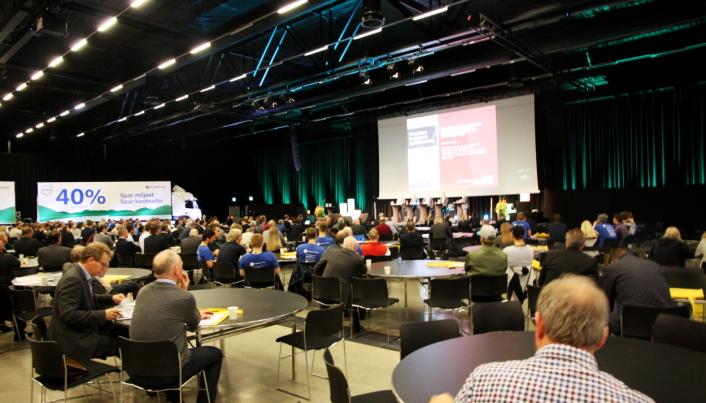 DET VAR EN GANG: Å samle 1000 mennesker til konferanse var helt normalt før mars 2020.La oss håpe det blir mulig igjen til høsten.