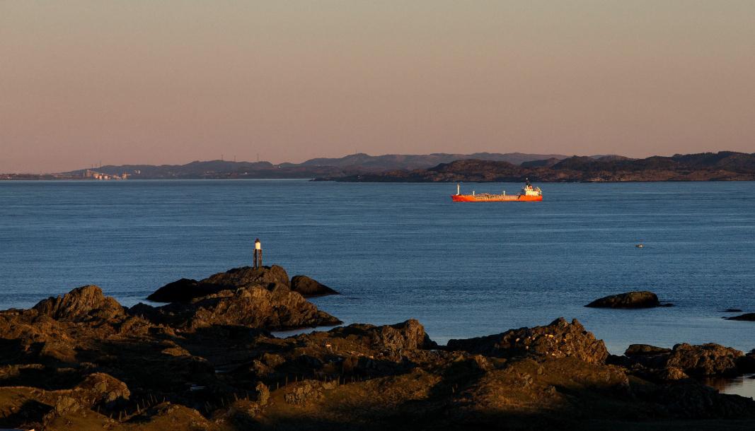 TRYGT OG FREMKOMMELIG: Sjøveien må gjøres trygg og seilbar for å være effektiv, men hvem har ansvaret for det? Her fra Kvitsøy i Rogaland.