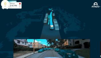 TOVEISTRAFIKK: Her er det en vei med trafikk i begge retninger, men da biler er parkert må bilen passe på og ta høyde for motgående trafikk før den kan passere.
