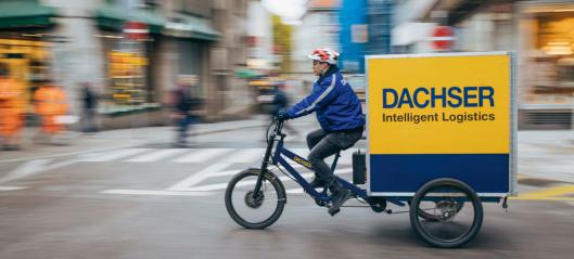 Flere utslippsfrie Dachser-byer