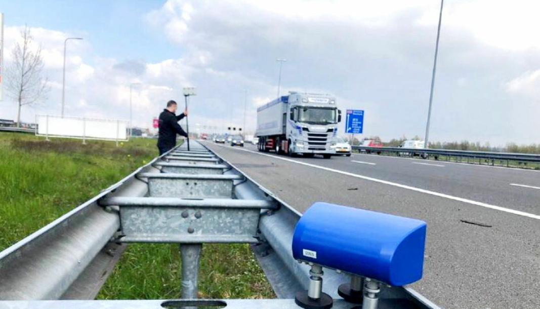 Fjernavlesing av fartsskrivere, gjør at man kan plukke ut de som ikke har alt i orden mens de som har alt i orden slipper å bli stoppet. Foto: ILT