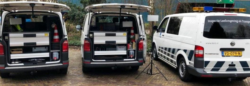 Noe av utstyret som testes i Nederland nå. Foto: ILT