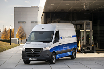 Salgsstart på elektriske eSprinter varebil