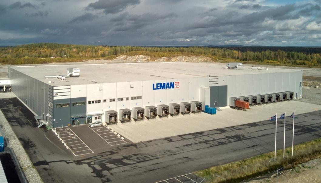 Leman begynte med leie halve bygget på Vestby i 2018. Nå har 3PL-aktøren overtatt hele bygget.